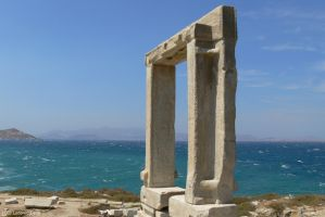 Greece - Naxos gate of Apollo 01 (HD) by Ludo38