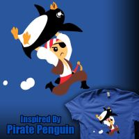 Inspired By Pirate Penguin by amegoddess