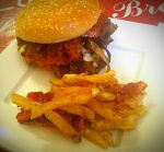 Cheeseburger With Bacon And Onions by queenofexecutions