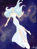 Blue Godess by Amai--chan