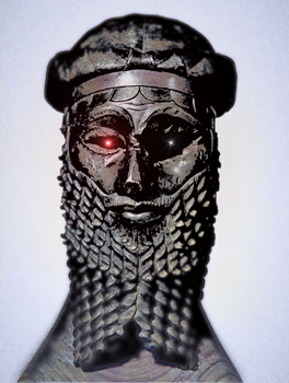 Naram-sin, King of the four quarters of the World by Jakeukalane