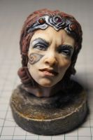 Skyrim Nord Head by MarylinFill