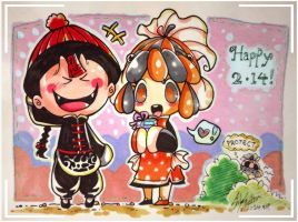 Happy 214 2014 !! by Lilu-Leloo