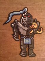 Alphonse and Kitty Perler by SpringDasie