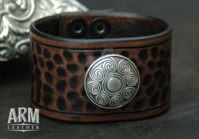 ARM Band 1 by Blackthornleather