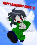 HBD Ghosty owo by Coffgirl