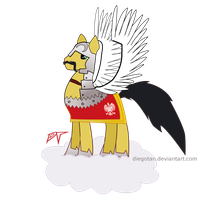 Polish Hussar Pony MLP FiM by DiegoTan