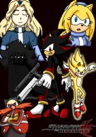 Shadow the Hedgehog 2 2nd Cover by Retzan