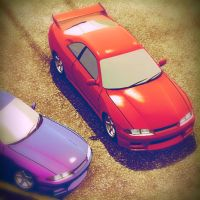 Car X Drift Racing R33 GTS vs R33 GTR by Inamson1