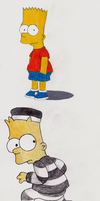 Bart Simpson by Iwilldrawit