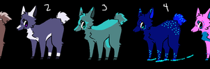 Deer Adopts (4/5 Open) by AvalaAdopts