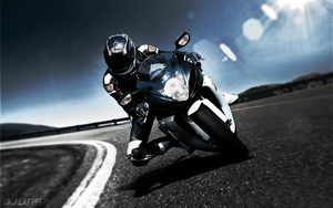 Suzuki GSX dragan effect by djlupix