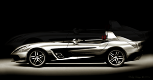 Mercedes SLR Stirling Moss by Webby-B