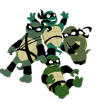 10yrsy TMNT Floaty by CuddlesAndHuggles