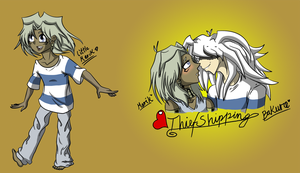 ThiefShipping and a tiny Marik by ZizzyBlack