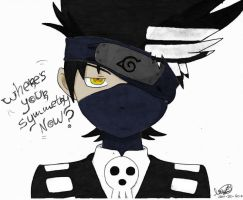 Death the Kakashi COLORED! by SamhainKWC