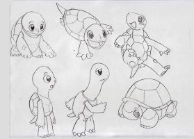 Jimmy the Turtle concept page 2 by cartoonist19
