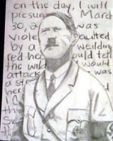 Hitler by Quisa