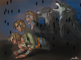 Link's Transformation by sugarpoultry