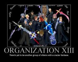 Org XIII Demotivational Poster by Lycan-wolf96