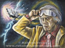 Doc Brown by RohanElf