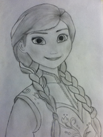 Anna Drawing by Kaitlin73