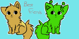 Best friends by YapYip