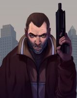 Gamepro Cover - GTA4 by UdonCrew
