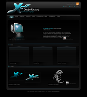 Black XDF Interface by Xt3-Design-Factory