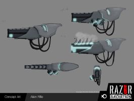 Weapon - Alien Rifle by HozZAaH