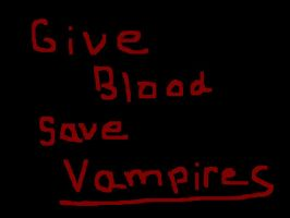Save the vampires by RenMason