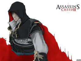 Ezio Wallpaper normal by DrRiptide
