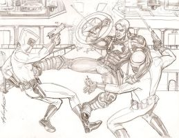 Steve Rogers SUPER SOLDIER by WEDMER