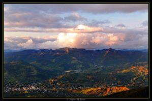 Golden mountains by BogdanEpure