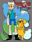 Finn and Jake by YoungLazyDog