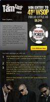 WSOP Poker Mailer by mangion