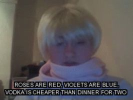 Russia's Valentines day poem (CLICK TO SEE GIF!) by NeverSleepNeverDie