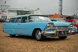57 Plymouth Suburban by smevcars