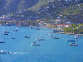 Beautiful Harbor of St. Thomas by Roses-to-Ashes