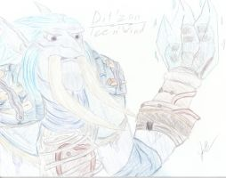 Dit'zan, Ice n' Wind  In Color by GG3095