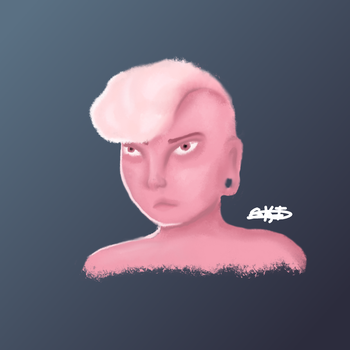 Pink Lars by SamanBrosefineIzzle
