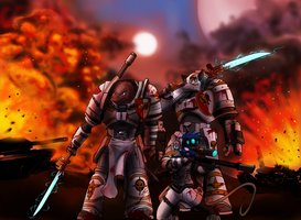grey knights by spaceweasel2306