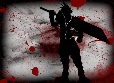 Cloud Strife iTunes by Doublecowbell