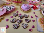 Miniature heart cookie by LittlestSweetShop