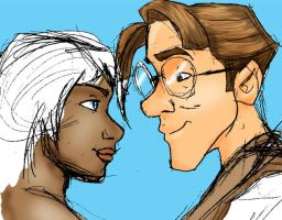 Milo and Kida Colored by JesusIsMyHomie