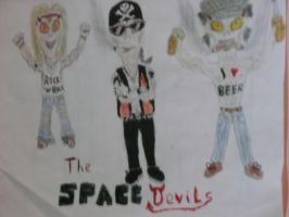 The Space Devils by NK-Jizzer