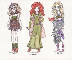Favorite Girls for Halloween by mox-ie