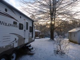 The RV in winter by usedbooks