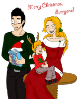 The Kurosaki Family Christmas by RomaniaBlack