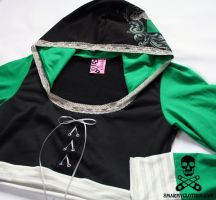 Harry Potter Slytherin Shrug 5 by smarmy-clothes